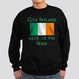 Give Ireland Back Sweatshirt (dark)